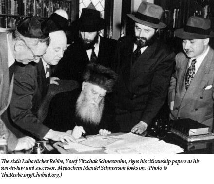 Lubavitcher Rebbes