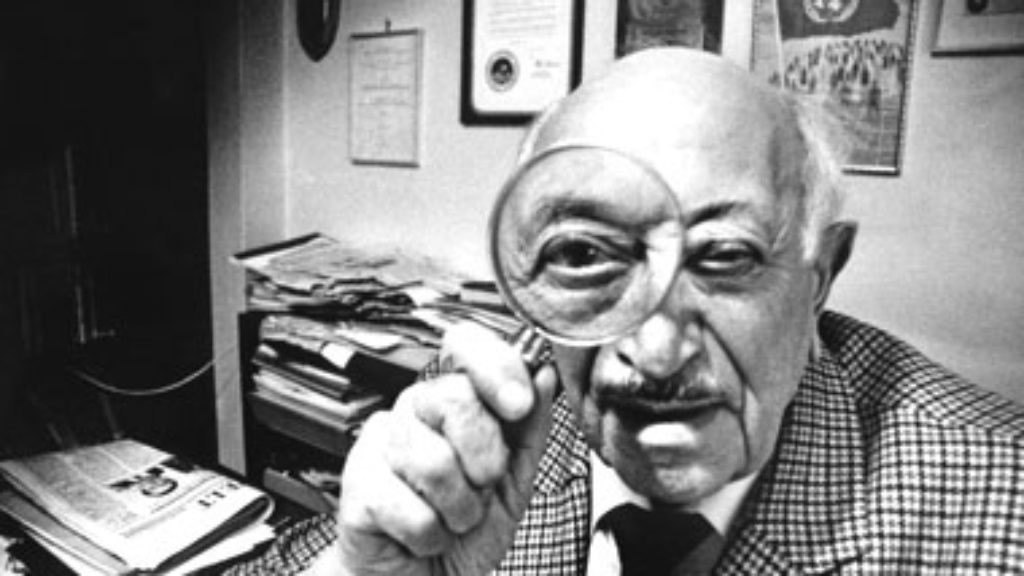 Simon Wiesenthal and the Ethics of History
