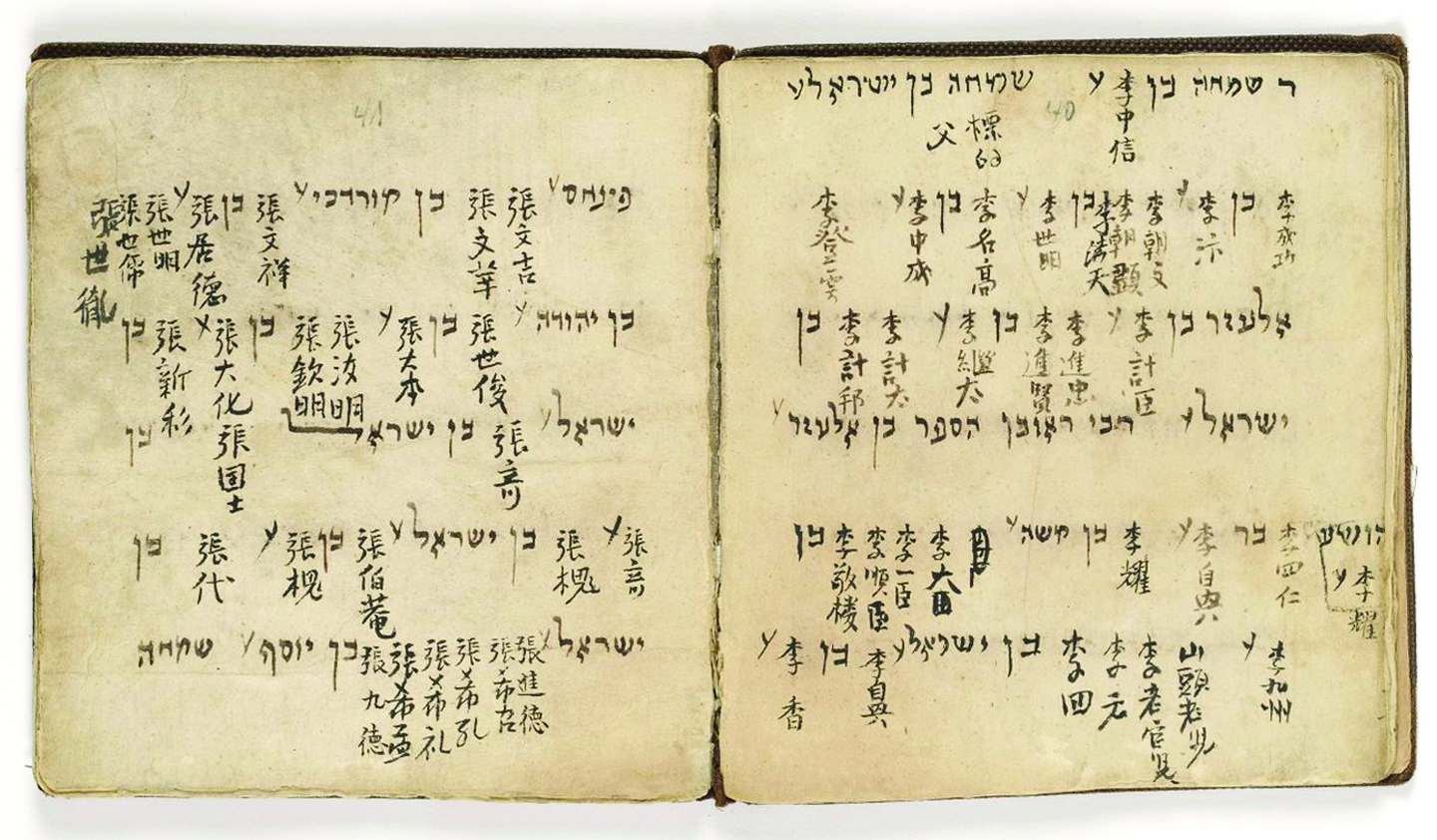 The Haggadah of the Kaifeng Jews of China