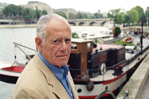 James Salter in Paris, October 1999. (Photo by Ulf Andersen/Getty Images.)