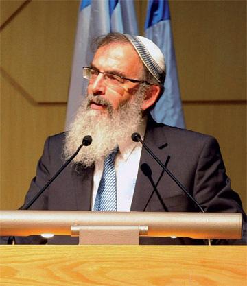 Rabbi David Stav. (Courtesy of Tzohar.)