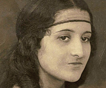 Ita Kalish as a young woman.