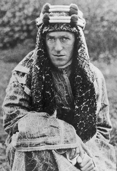 "T.E. LawrenceWelsh-born archeologist, author, and military leader Thomas E. Lawrence, ""Lawrence of Arabia,"" ca. 1920. (© Hulton Archive/Getty Images.)"