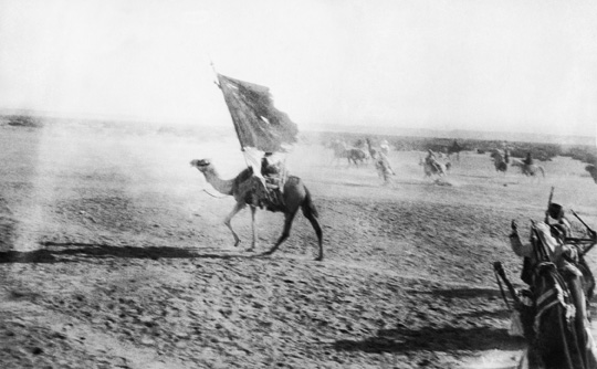 Arab rebels under Lawrence's leadership capture the port of Aqaba, July 6, 1917.