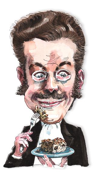 Franz Rosenzweig. (Illustration by Mark Anderson.)
