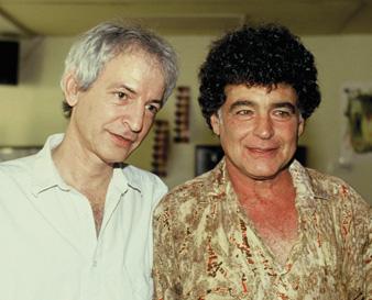 Shalom Hanoch and Meir Ariel