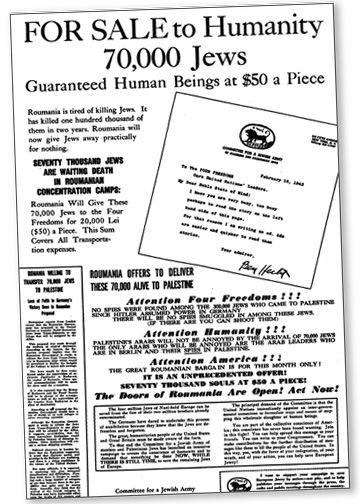 Bergson Hecht Newspaper Ad