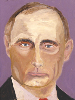 Bush's Putin portrait