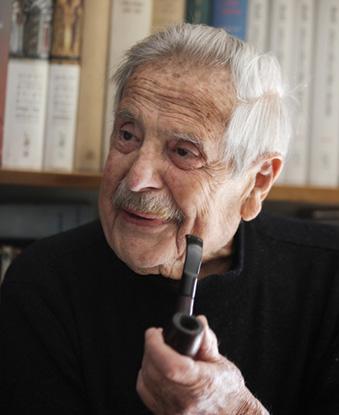 Haim Gouri at 90