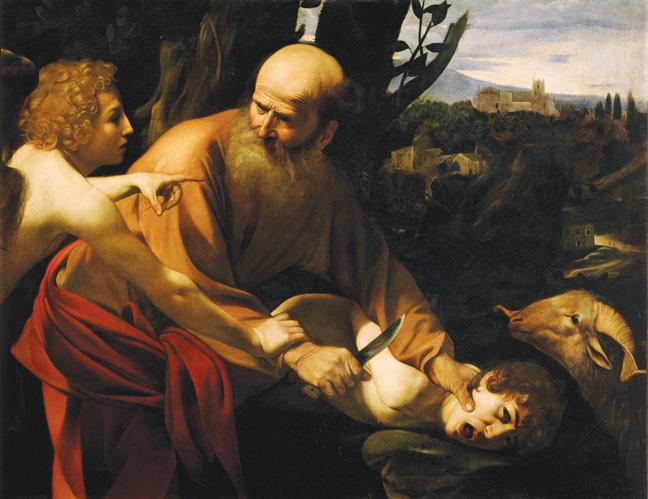 Sacrifice of Isaac by Caravaggio