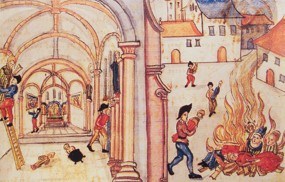 Destruction of Religious Images in Zurich