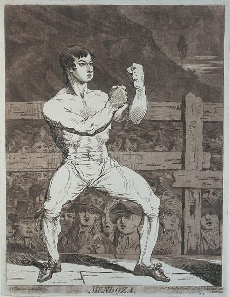Daniel Mendoza boxing