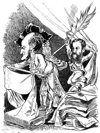 Wagner cartoon