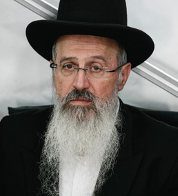 Rabbi Avraham Yosef, Jerusalem 2013. (Photo by Flash90.)