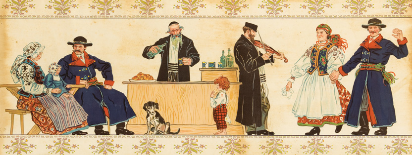 Gentiles and Jews in a Tavern