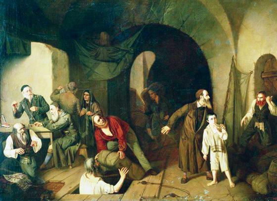 Jewish Smugglers by Alexander Rizzoni
