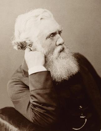 Sir Austen Henry Layard, ca. 1883. (Courtesy of Bibliothèque Nationale de France.)