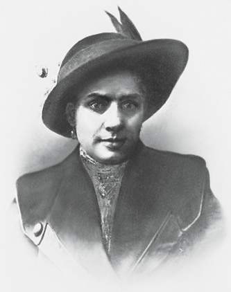 Vera Cheberiak, the likely murderer. (Courtesy of Edmund Levin.)