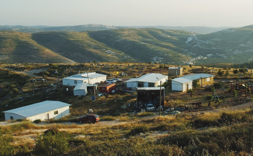 A West Bank Jewish settlement, May 19, 2013. (Photo by Mendy Hechtman/Flash90.)