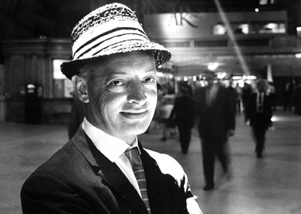 Saul Bellow, 1962. (Photo by Truman Moore/The LIFE Images Collection/Getty Images.)
