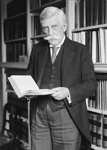 Justice Oliver Wendell Holmes, ca. 1924. (Courtesy of the Library of Congress Prints and Photographs Division.)