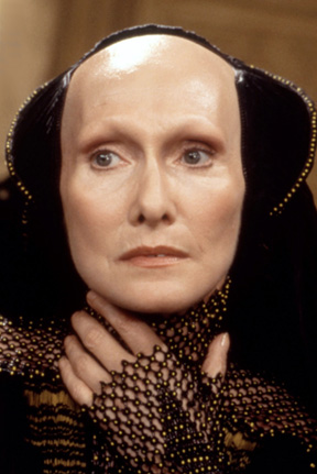 A Bene Gesserit, from David Lych's Dune