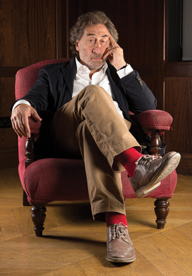Howard Jacobson, September 2014. (© Richard Saker/Contour by Getty Images.)