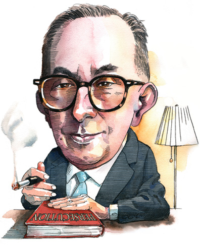 Leo Strauss Illustration.