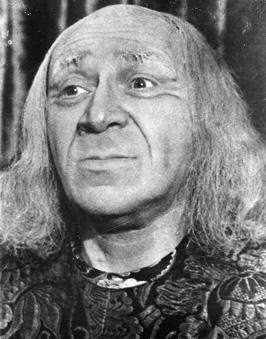 Solomon Mikhoels as King Lear.
