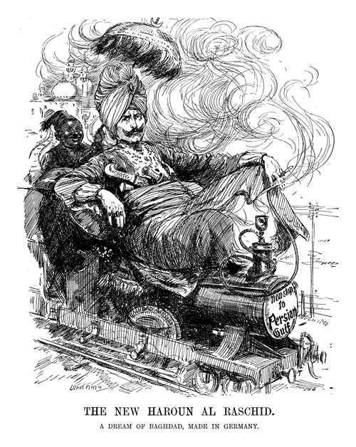 Cartoon depicting Kaiser Wilhelm by Leonard Raven-Hill, January 25, 1911. (Reproduced with permission of Punch Limited.)
