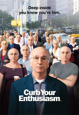 Poster advertising the 2005 season of Curb Your Enthusiasm.