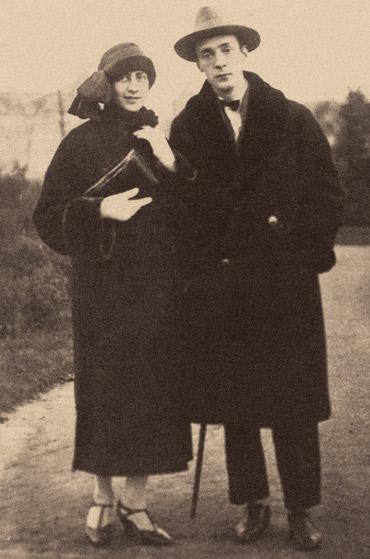 Véra Slonim and Vladimir Nabokov, ca. 1923. (© Heritage Images.)