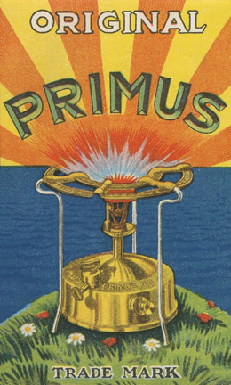 Poster advertising the Primus stove, Sweden, early 1920s.