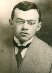 Vladimir Jabotinsky, 1910. (Courtesy of the Jabotinsky Institute in Israel.)