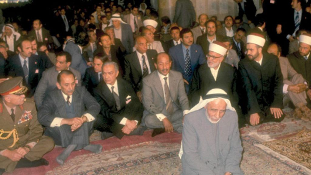 Sadat in Jerusalem: Behind the Scenes