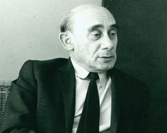 Avraham Halfi. (Photograph by Yaacov Agor, courtesy of Alexander Agor.)