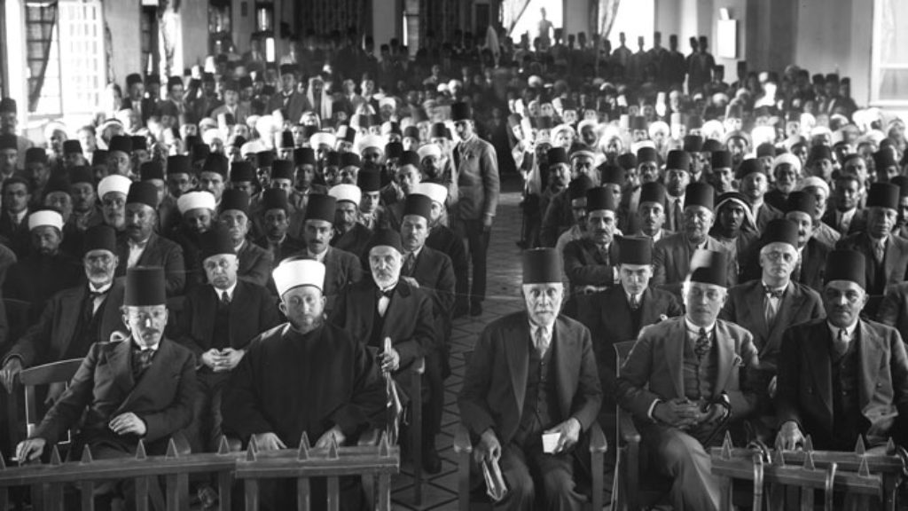 A Mechitza, the Mufti, and the Beginnings of the Arab-Israeli Conflict