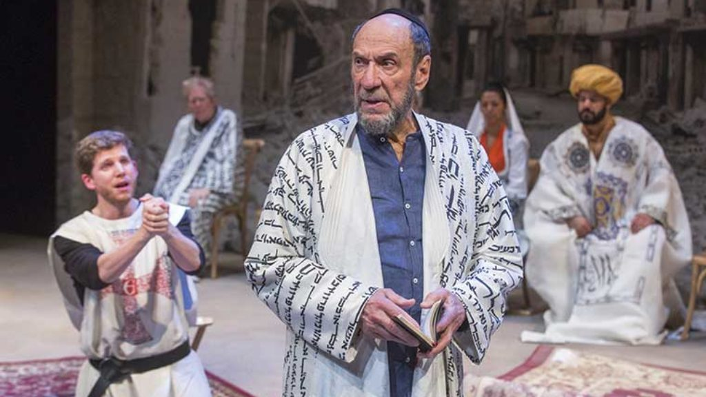 Saladin, a Knight, and a Jew Walk Onto a Stage