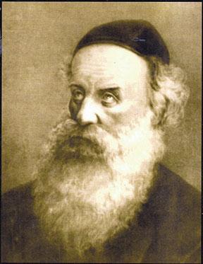 Rabbi Shneur Zalman of Liady, the founder of Chabad, by Boris Schatz, 1878.