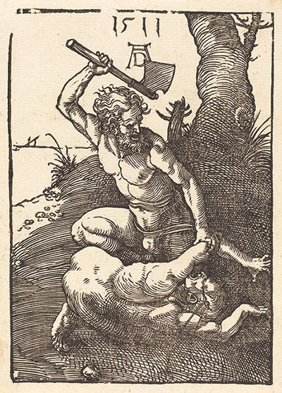 Cain Killing Abel by Albrecht Dürer, 1511. (Courtesy of the National Gallery of Art.)