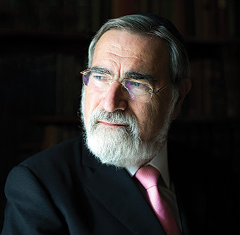 Rabbi Jonathan Sacks. (Courtesy of Blake Ezra Photography.)