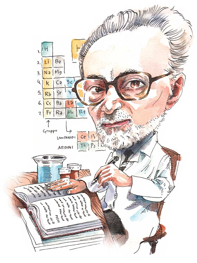 Primo Levi by Mark Anderson.