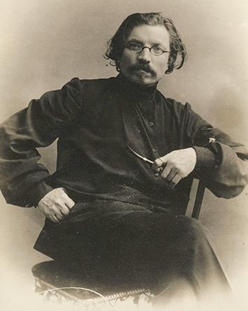 Sholem Aleichem as a young man, St. Petersburg, ca. early 1900s. (Courtesy Beit Scholem Aleichem, Israel.)