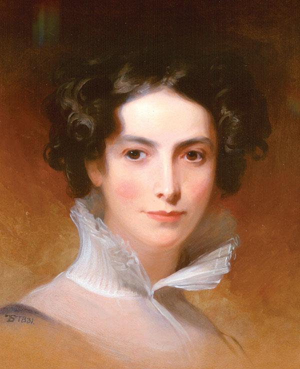 Rebecca Gratz by Thomas Sully, 1831. (The Rosenbach, Philadelphia.)