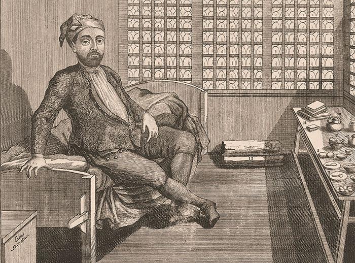 Illustratin of Joseph Süss Oppenheimer.