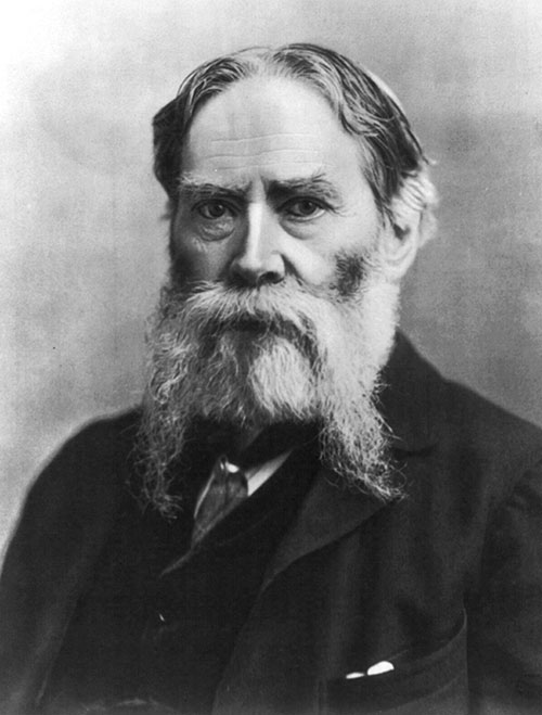 Photo of James Russell Lowell.
