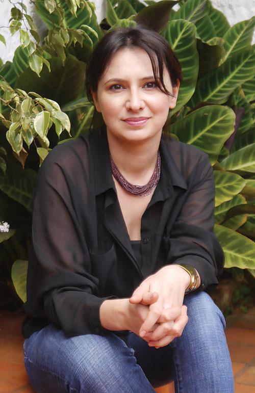 Photo of Sana Krasikov.