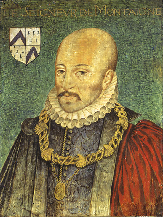 Portrait of Michel de Montaigne