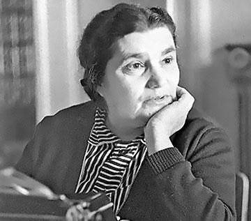 Evgenia Ginzburg in an undated photo.