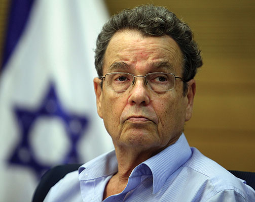 Former minister of justice Daniel Friedman at the Knesset